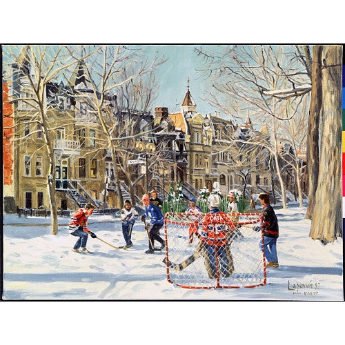 1000 Pc Puzzle M. Lapensee: Hockey Game