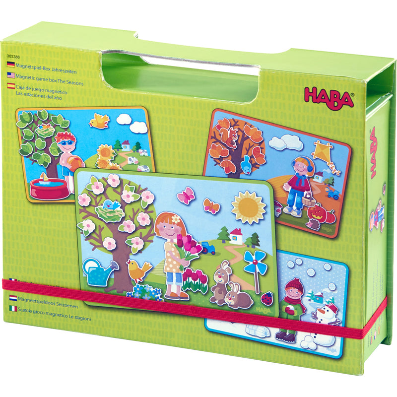 Haba - 303386 | Magnetic Game Box - The Seasons