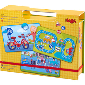 Haba - 303388 | Magnetic Game Box - Street Sense