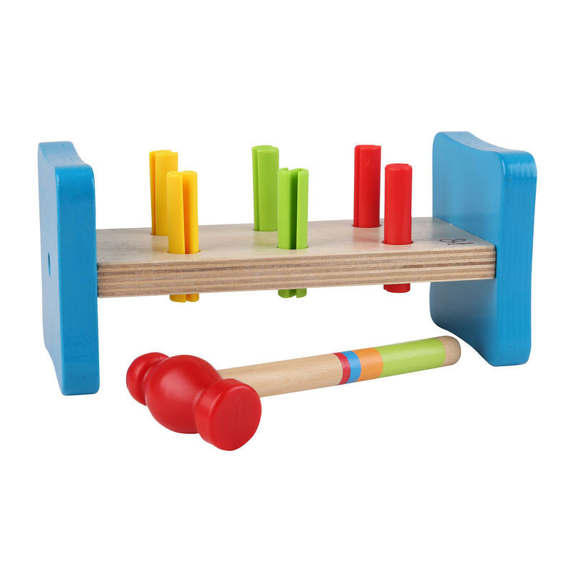 Hape First Pounding Bench Wooden - E0503