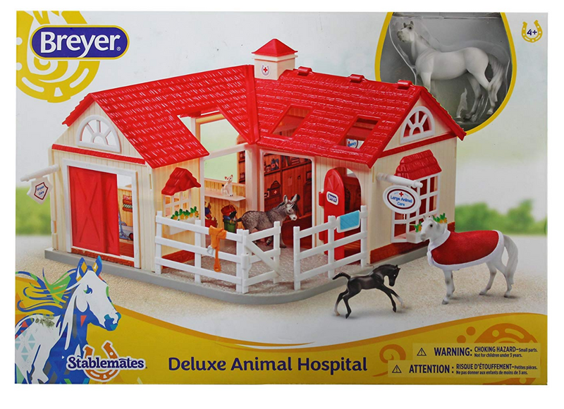 Breyer - 59204 | Stablemates: Deluxe Animal Hospital