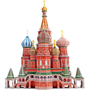 Imports Dragon - 10170 | St-Basil's Cathedral Puzzle 3D Image
