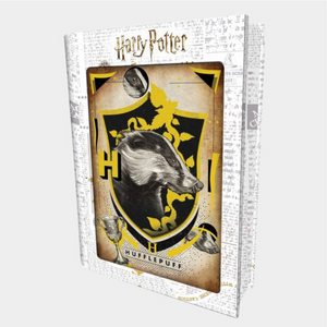 Imports Dragon - 35615 | 3D Tin Book Puzzle Harry Potter: Hufflepuff