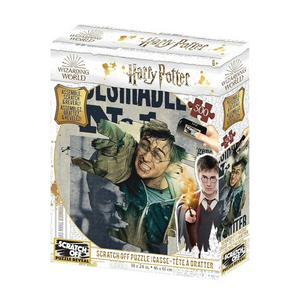 Imports Dragon - 37506 | Scratch OFF Harry Potter Wanted 500pc
