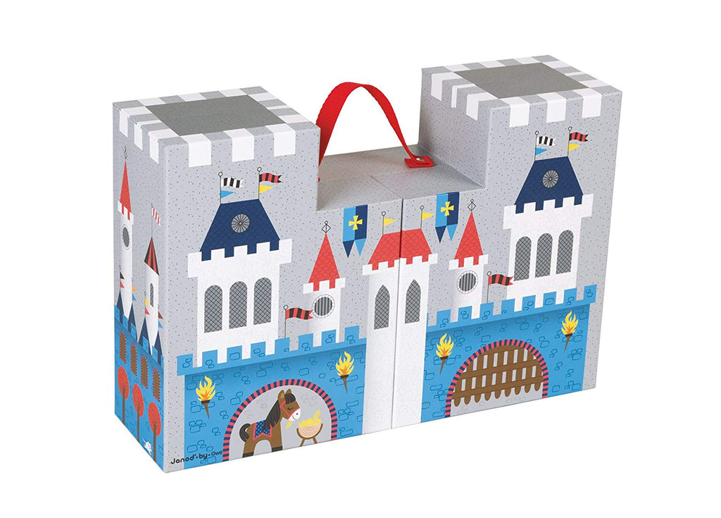 Janod - 02788 | Fantastic Knight Castle Carrying Case