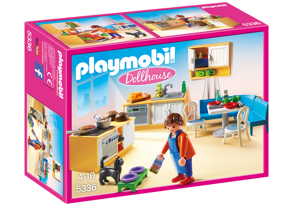 Playmobil - 5336 | Dollhouse: Country Kitchen