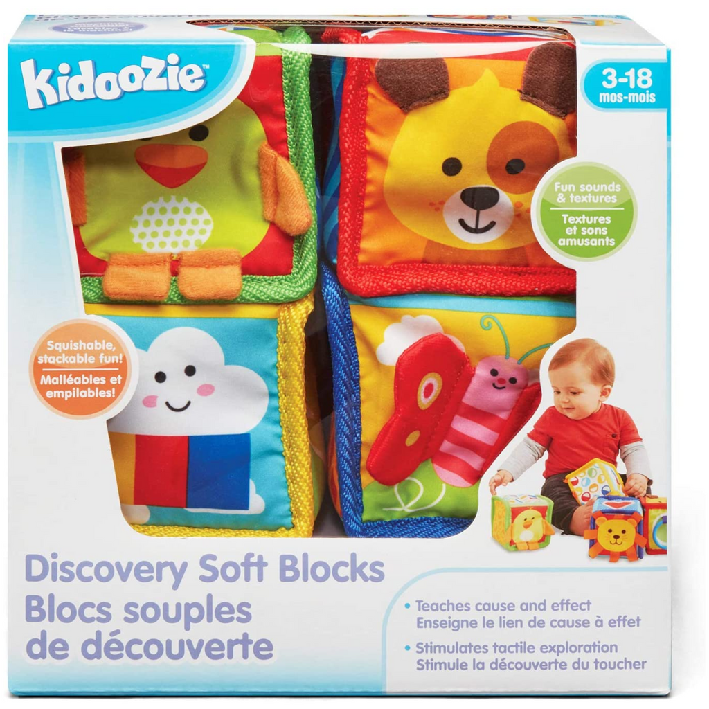 Kidoozie - E00300 | Discovery Soft Blocks