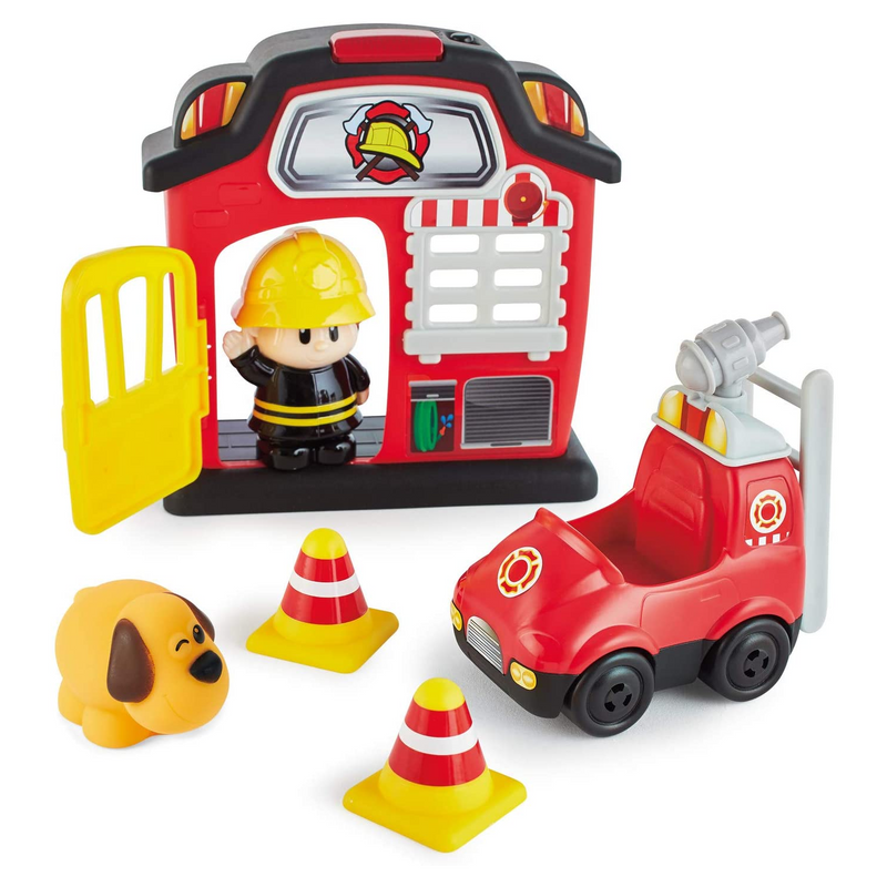 Kidoozie - G02592 | Lights and Sounds Fire Station