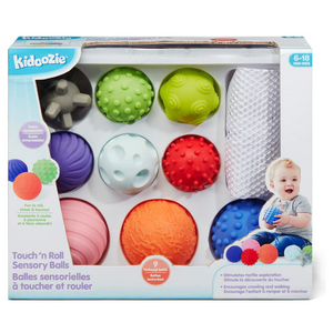 Kidoozie - G02594 | Touch 'N Roll Sensory Ball