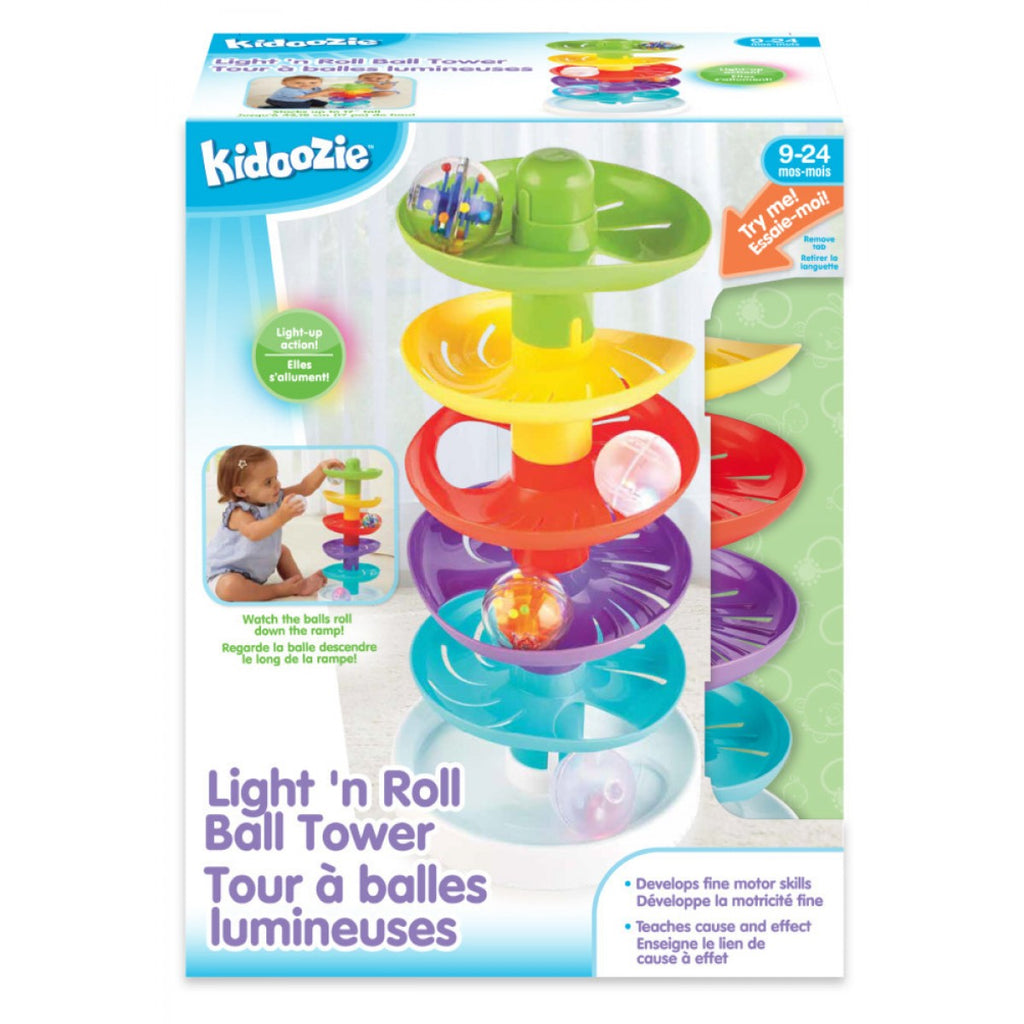 Kidoozie - G02548 | Light 'N Roll Ball Tower