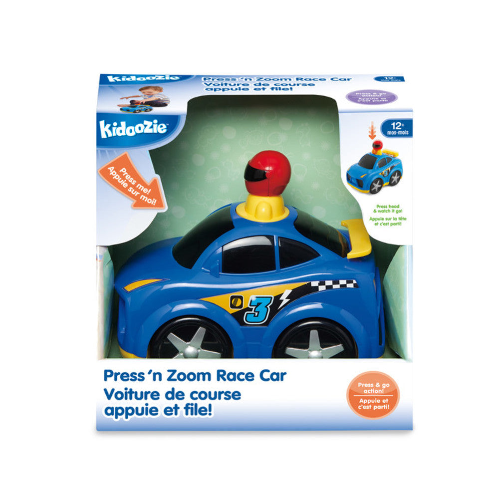 Kidoozie - G02551 | Press 'N Zoom Race Car