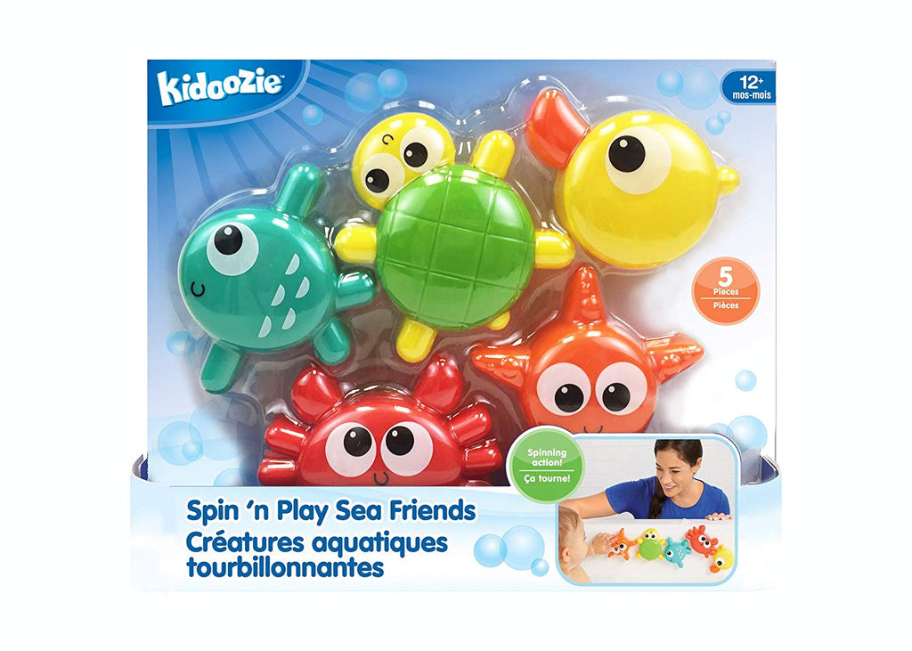 Kidoozie - G02560 | Spin & Play Sea Friends