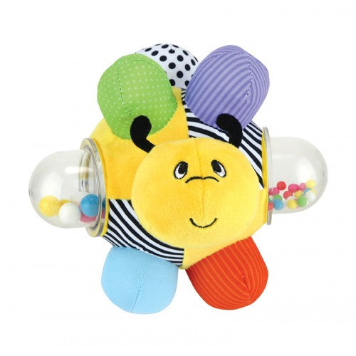 Kids Preferred - 49735 | Amazing Baby: Sassy Bumble Bee Bumpy Stuffed Ball