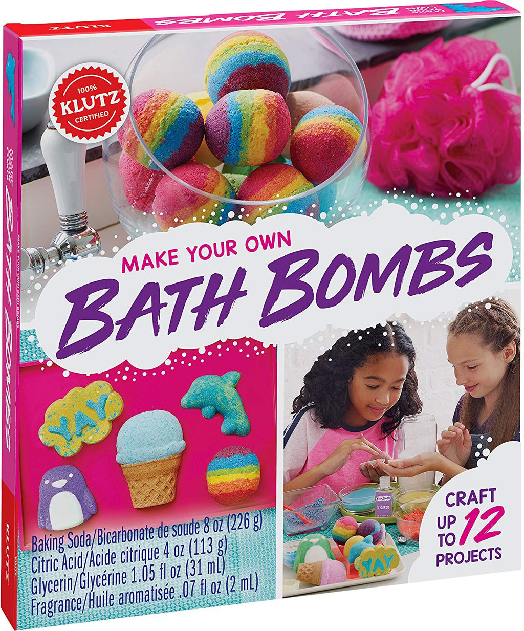 Klutz - 1338158805 | Make Your Own Bath Bombs