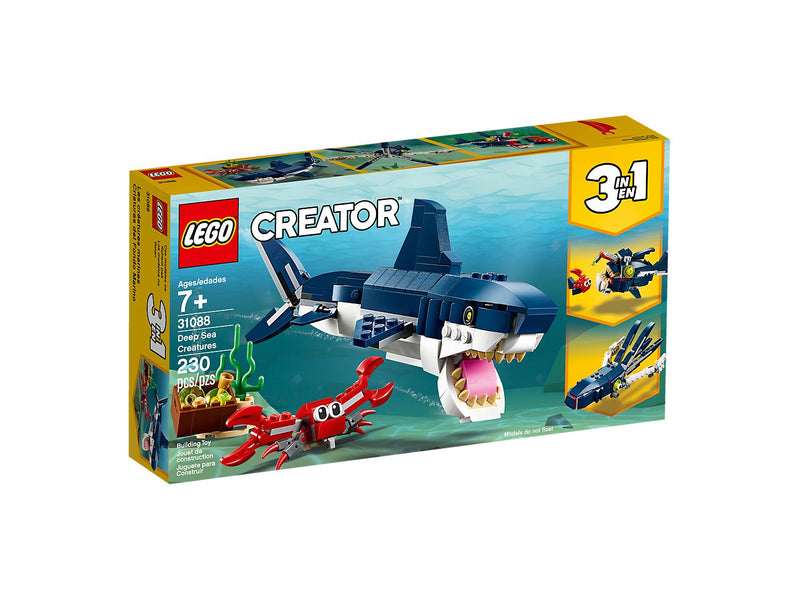 LEGO - 31088 | Creator: Deep Sea Creature