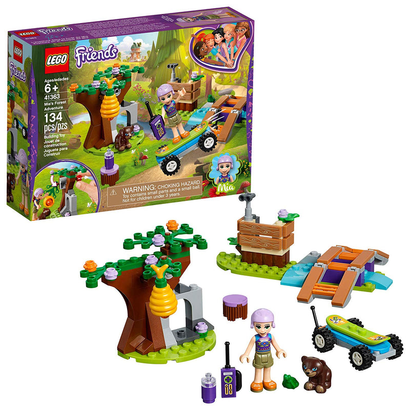 LEGO - 41363 | Friends: Mia's Forest Adventure