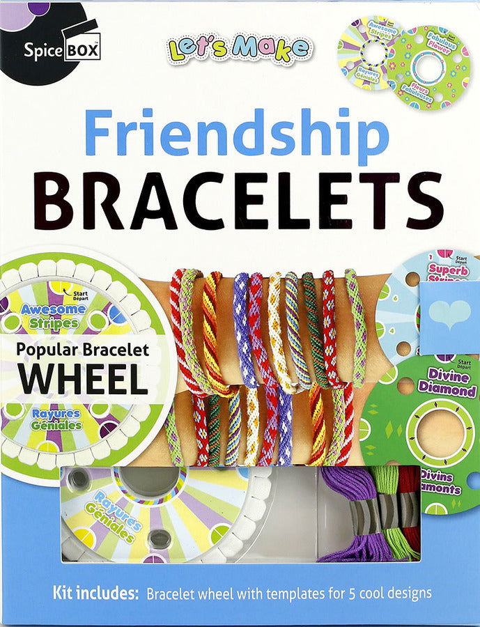 LET'S MAKE FRIENDSHIP BRACELETS - 09483 - SPICEBOX Castle toys