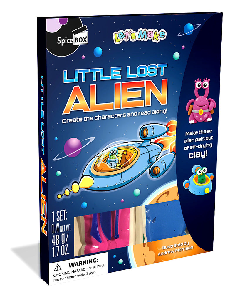 Spice Box - 10021 | Let's Make: Little Lost Alien