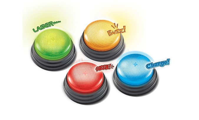 Learning Resources - LER3779 | Lights And Sounds Buzzers (Sold Individually)