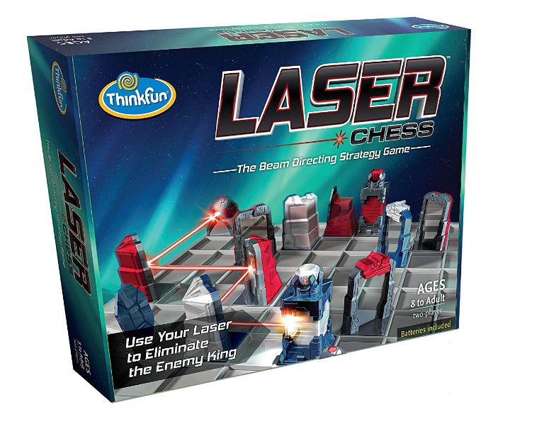 ThinkFun - 010348 | Laser Chess: The Beam Directing Strategy Game