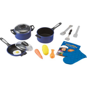 Learning Resources - LER9082 | Pretend & Play Pro Chef Set