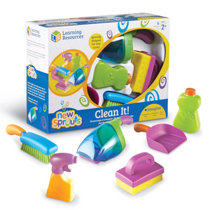 Learning Resources - LER9242 | New Sprouts: Clean It! - My Very Own Cleaning Set