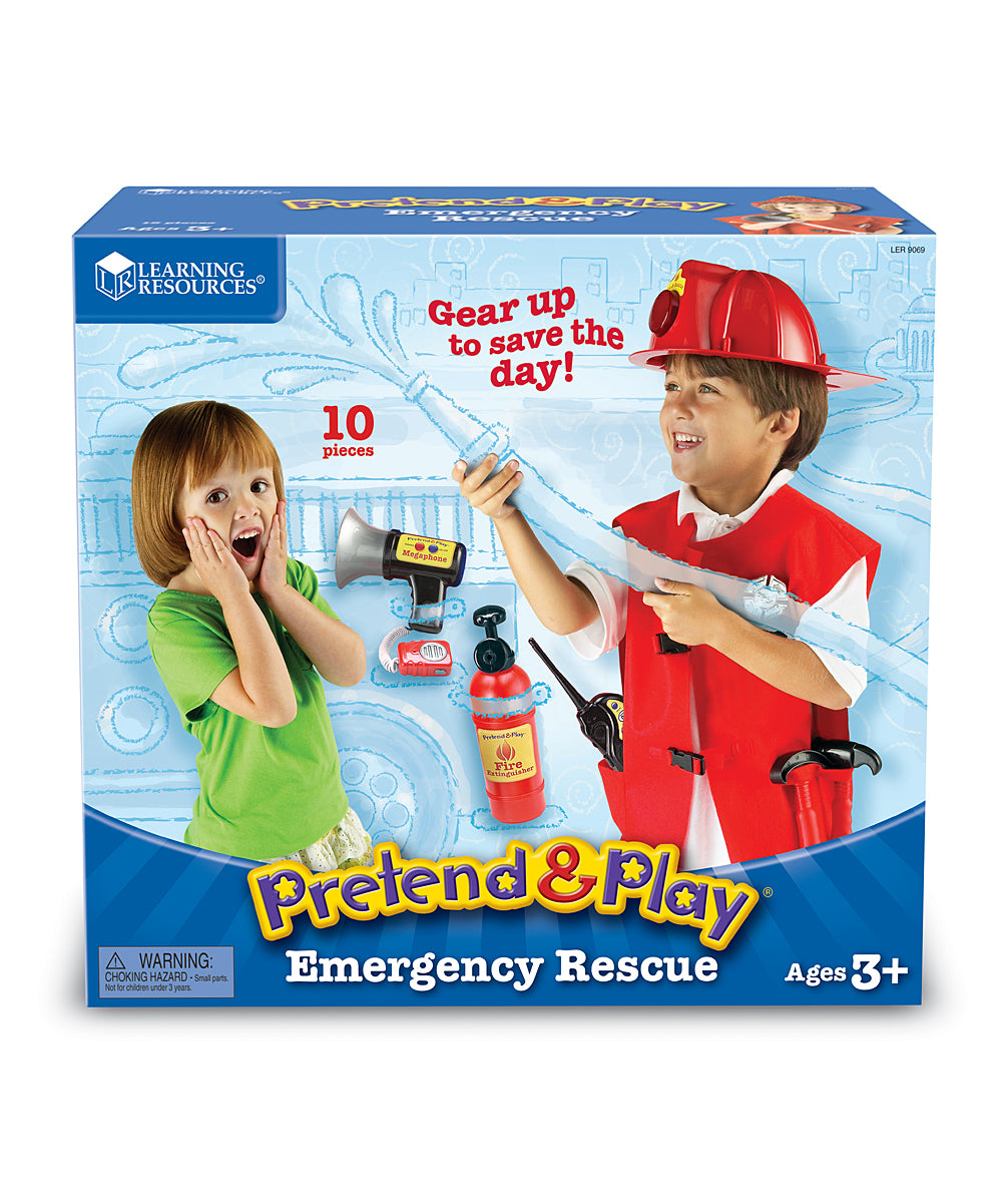 Learning Resources - LE9069 | Pretend & Play: Emergency Rescue Set