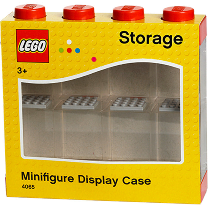 Lego - Minifigures Display Case For 8 Figures (Red)