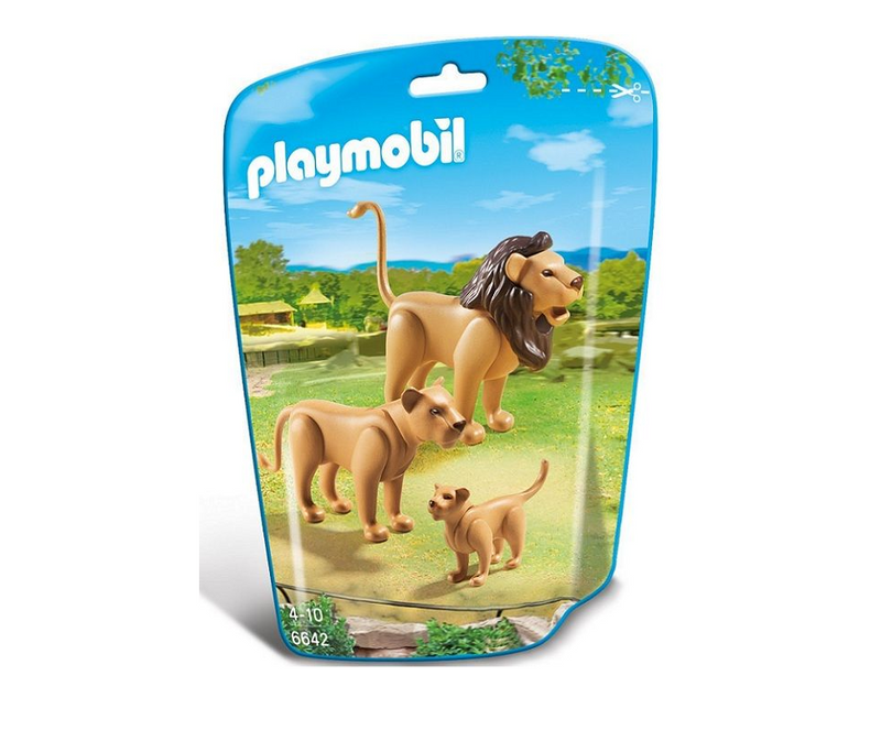 Playmobil - 6642 | City Life: Lion Family