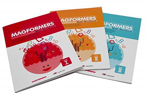 Magformers - 63410 | Magformers Math Books Set Of 3
