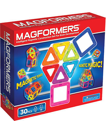 Magformers 30 Piece Rainbow Set #63076