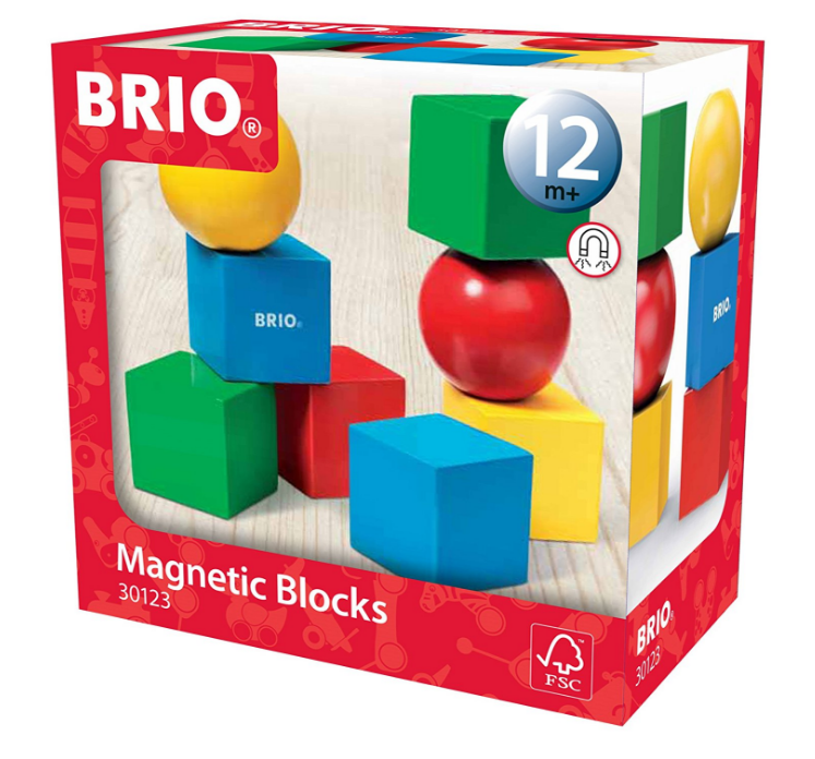 BRIO - 30123 | Magnetic Blocks