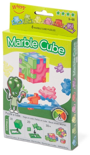 Marble Cube 6 Puzzles