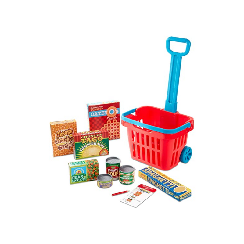 Melissa & Doug - 14073 | Grocery Basket Play Set