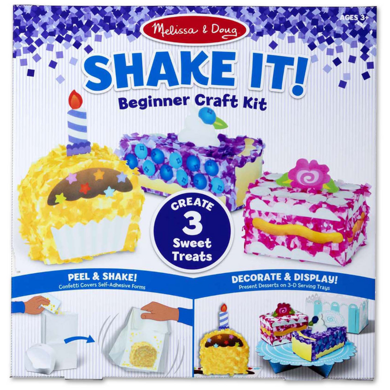 Melissa & Doug - 30185 | Shake It! Beginner Craft Kit: Deluxe Sweet Treats
