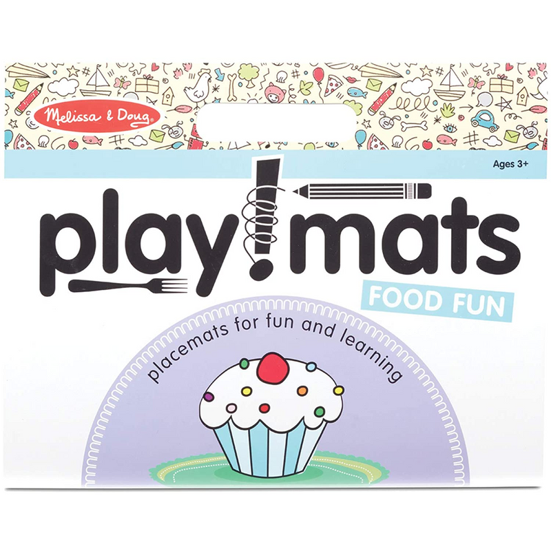 Melissa & Doug - 31432 | Playmats - Food Fun