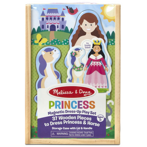 Melissa & Doug - 40321 | Princess Magnetic Dress-Up Play Set