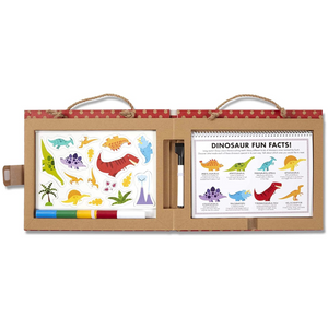 Melissa & Doug - 41321 | Reusable Drawing and Magnet Kit - Dinosaurs