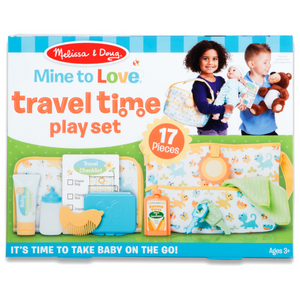 Melissa & Doug - 41707 | Mine to Love Travel Time Play Set