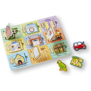 Melissa & Doug - 474 | Magnetic Hide & Seek Board