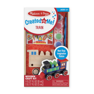 Melissa & Doug - 8846 | Created by Me!: Train Wooden Craft Kit
