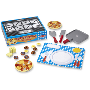 Melissa & Doug - 9342 | Wooden Flip & Serve Pancake Set