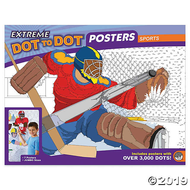 MindWare - MB-56145 | Dot to Dot Posters: Sports