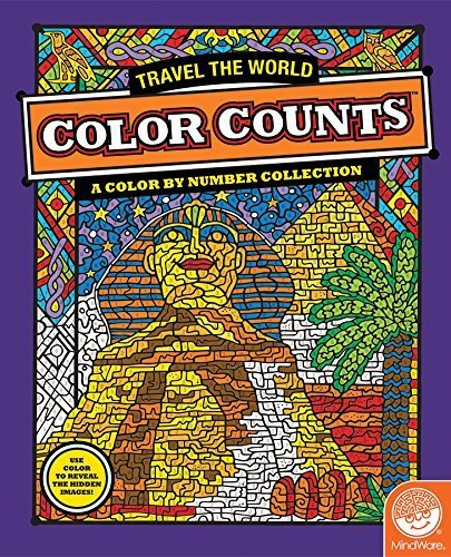 MindWare - MB-62005 | Color Counts: Travel the World