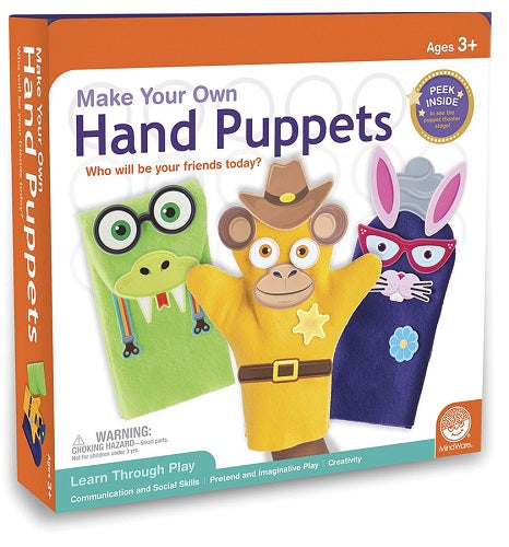 MindWare - MW-16941 | Make Your Own Hand Puppets