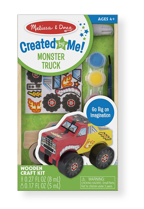 Melissa & Doug - 9524 | Decorate-Your-Own Monster Truck