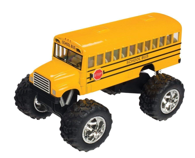 Toysmith - 5020 | Monster School Bus - Die Cast
