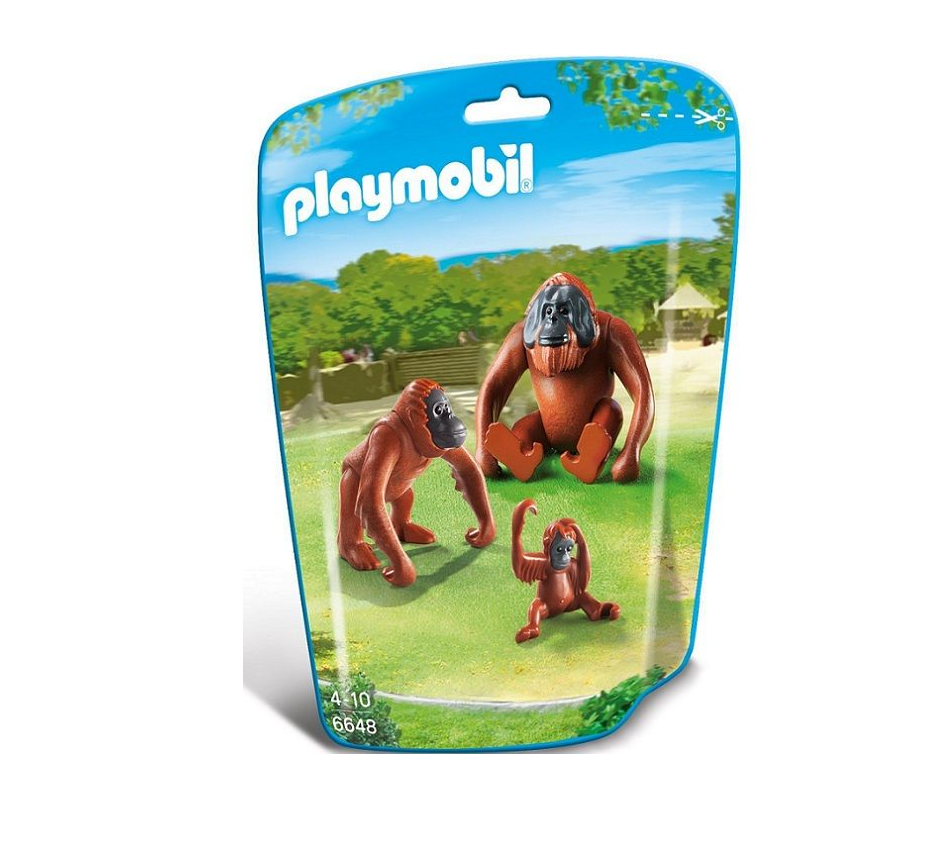 Playmobil - 6648 | City Life: Orangutan Family