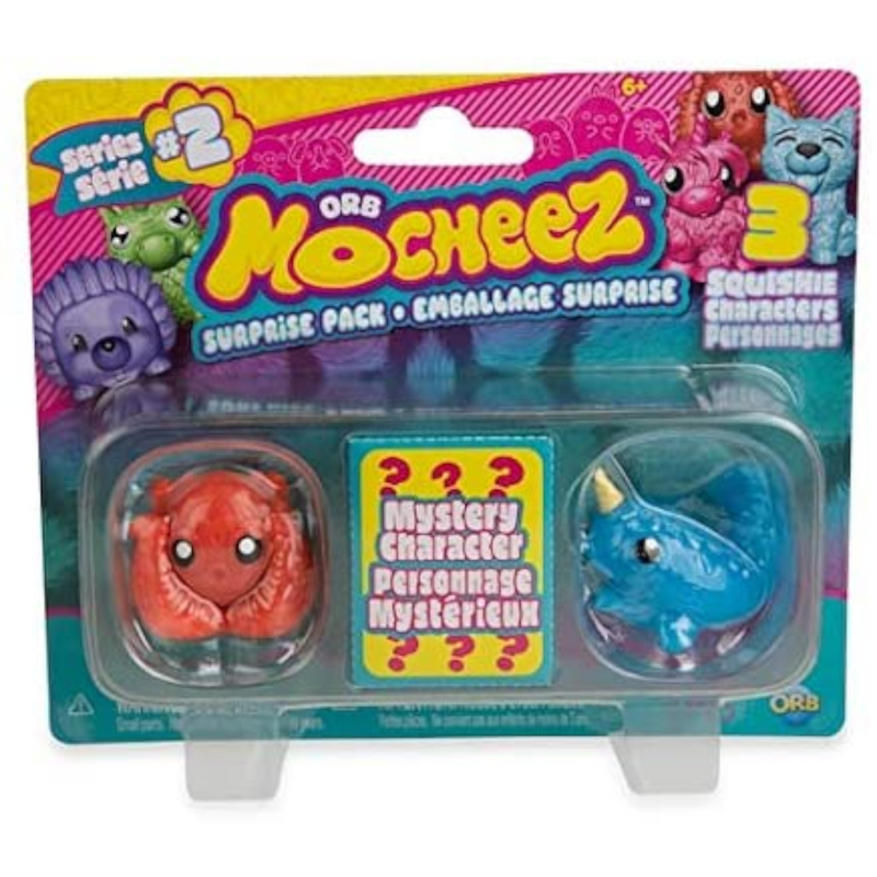 Orb Factory - 401481 | Mocheez 3-Pack (Series 2) - Assorted with One per Purchase