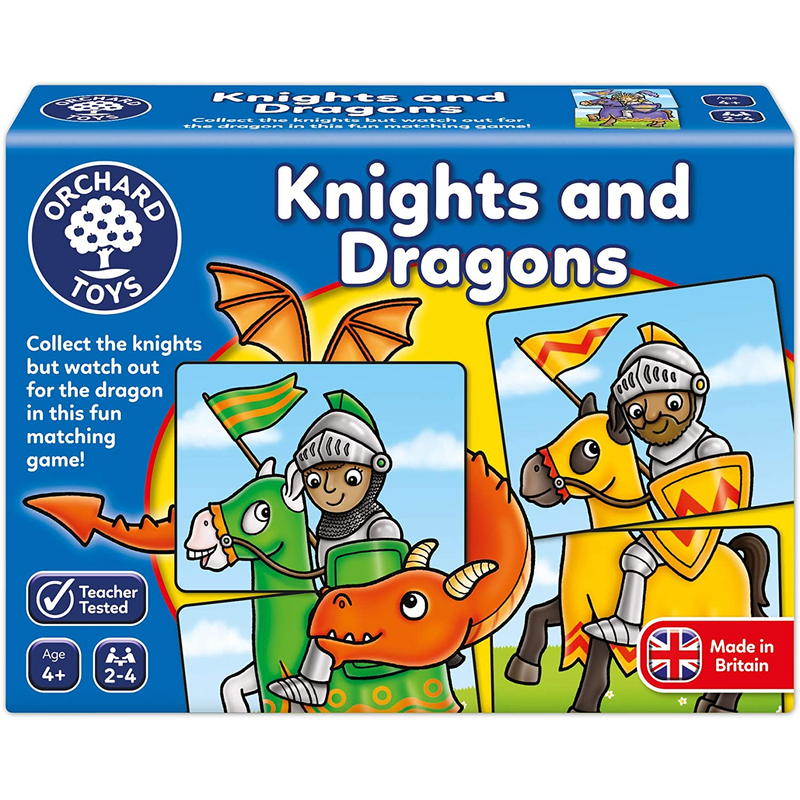 Orchard Toys - 000217 | Knights and Dragons